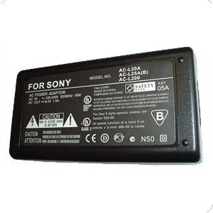 AC Adapter For Sony AC-L200 8.4V 1.5A AC-L200P AC-L200F DCR-SR100 DCR-SR40 DCR-SR80 DCR-TRV280 DCR-TRV480 DCR-DVD305 DCR-DVD405 New