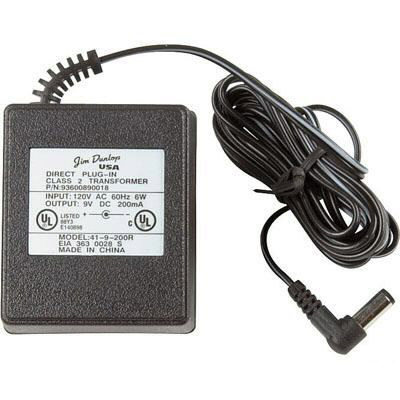 Dunlop Pedals ECB-03 AC Adapter 9V 200mA Power Supply For many Dunlop guitar and Bass effects pedals Brand New