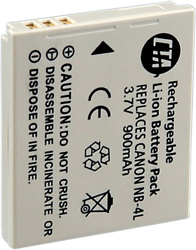 Li-ion Digital Camera Battery For Canon NB-4L NB4L 3.7V 700mAh PowerShot SD30 SD400 SD300 SD450 SD630 SD600 Digital IXUS 40 50 55 60