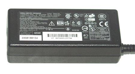 HP 391172-001 18.5V 3.5A 65W AC Adapter for 384019-003 PPP009H PPP009L PA-1650-02HC NC2400 NC6320 NC6400 NX6310 NX6315 NX6325 NX7400