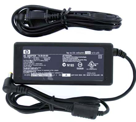 HP Genuine Original F4600A 19V 3.95A 75W AC Adapter For F4814A ADP-75HB OmniBook Series Pavilion Series and Acer TravelMate