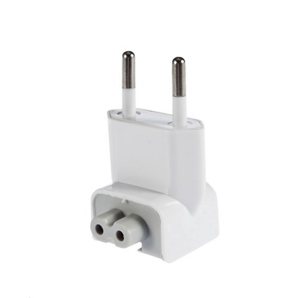 Apple EU Plug Converter Power Adapter Charger For Macbook iPhone IPad White New