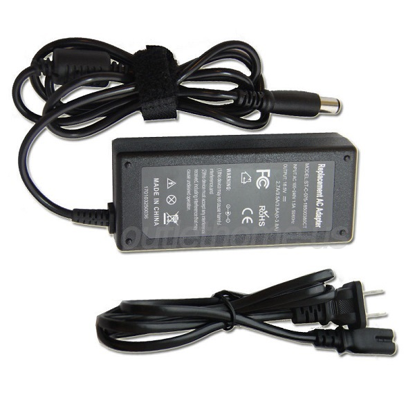 HP 519329-001 608425-003 609939-001 65W 18.5V AC Adapter Charger Power Supply Cord wire