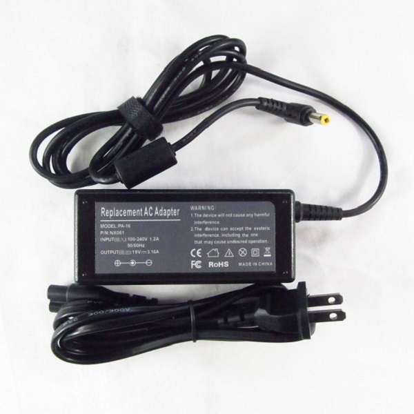 Dell Inspiron D233XT AC Adapter Charger Power Supply Cord wire
