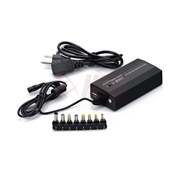 100W Universal AC to DC Adapter Charger Power Supply Cord wire For Laptop Notebook Computer