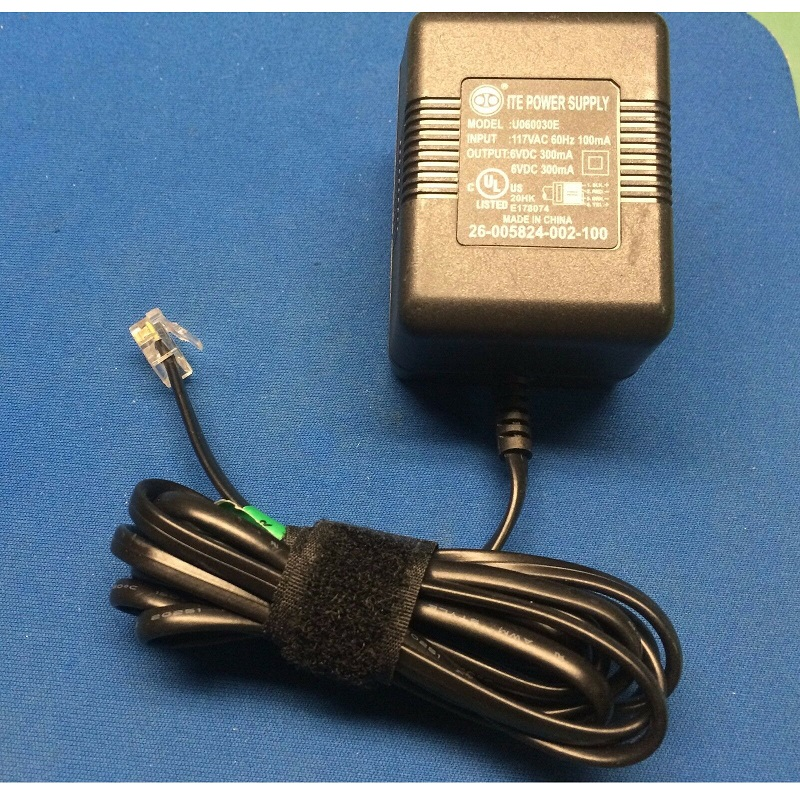 26-005824-002-100 AC Adapter Power Cord Supply Charger Cable Wire