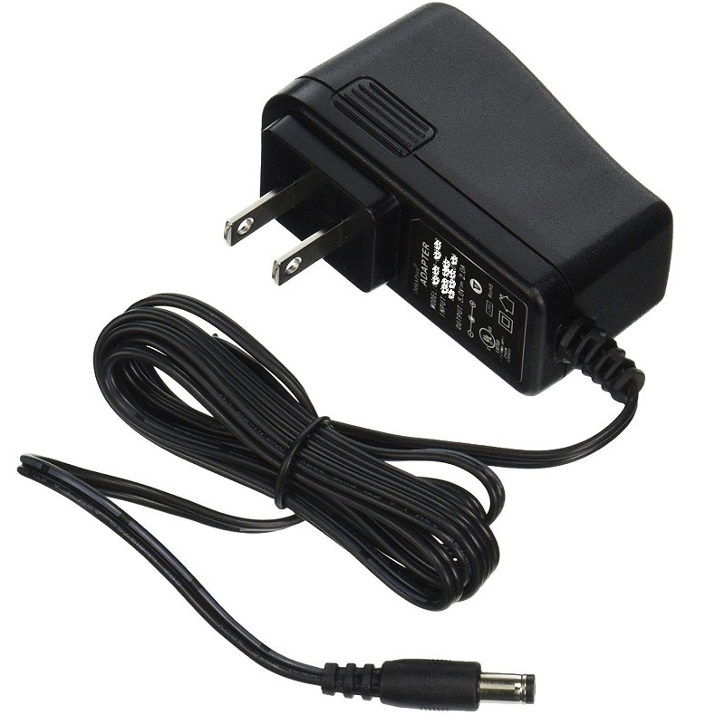 2A15 3B73 AC Adapter Power Cord Supply Charger Cable Wire 18650 Torch Flashlight Black