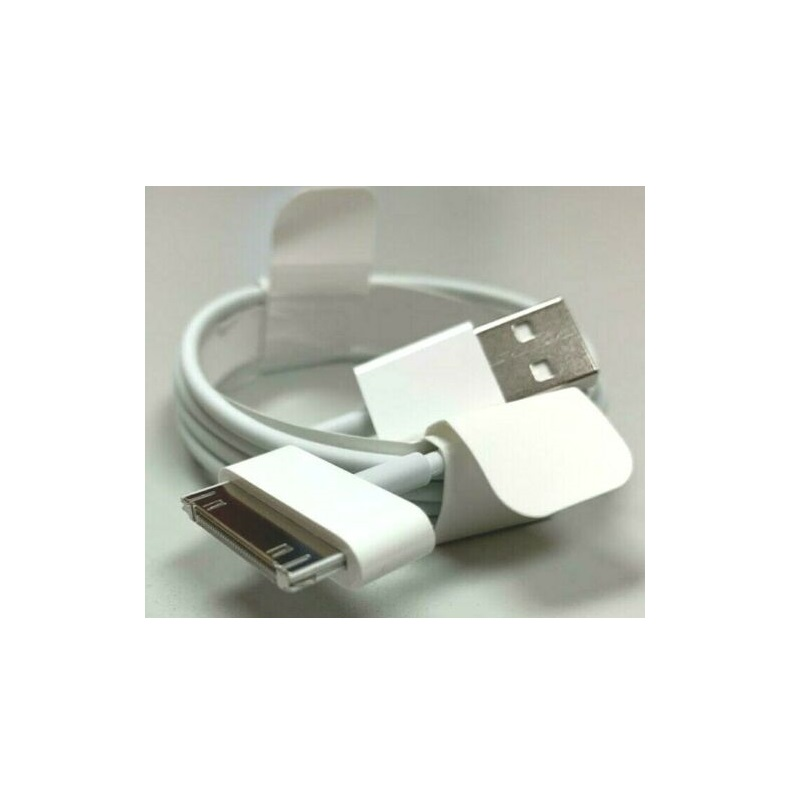 Apple MA591G/C 30-Pin to USB Power Cord Cable Wire Genuine Original