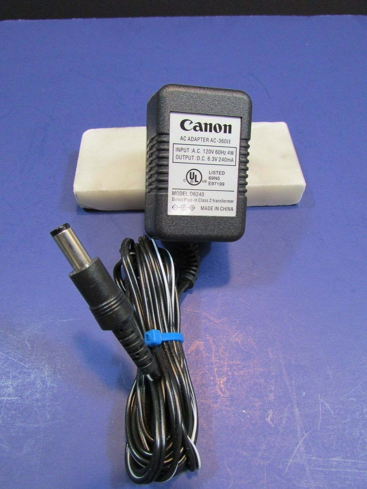 Canon D6240 AC-36011 AC Adapter Power Supply Cord Cable Genuine Original