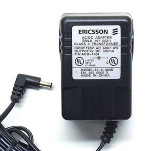 ERICSSON Z359300D AC Adapter Power Cord Supply Charger Cable Wire 9VDC-300mA