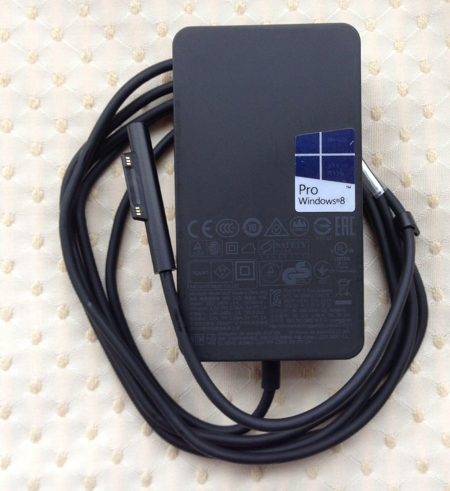 Microsoft 3PU2-00001 AC Adapter Power Supply Cord Cable Charger Geneuine Original
