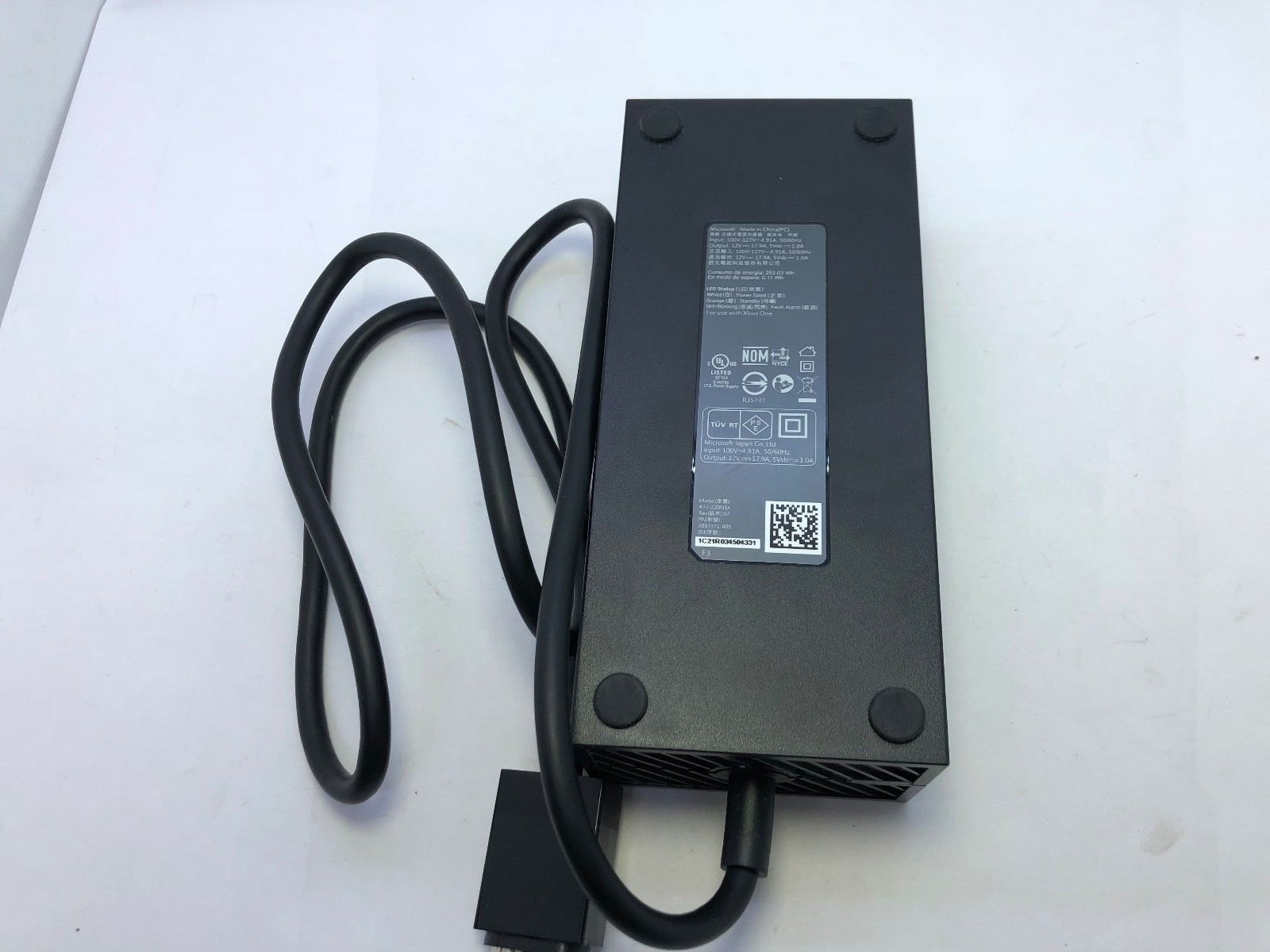 Microsoft A12-220N1A A12220N1A AC Adapter Power Cord Supply Charger Cable Wire Genuine Original