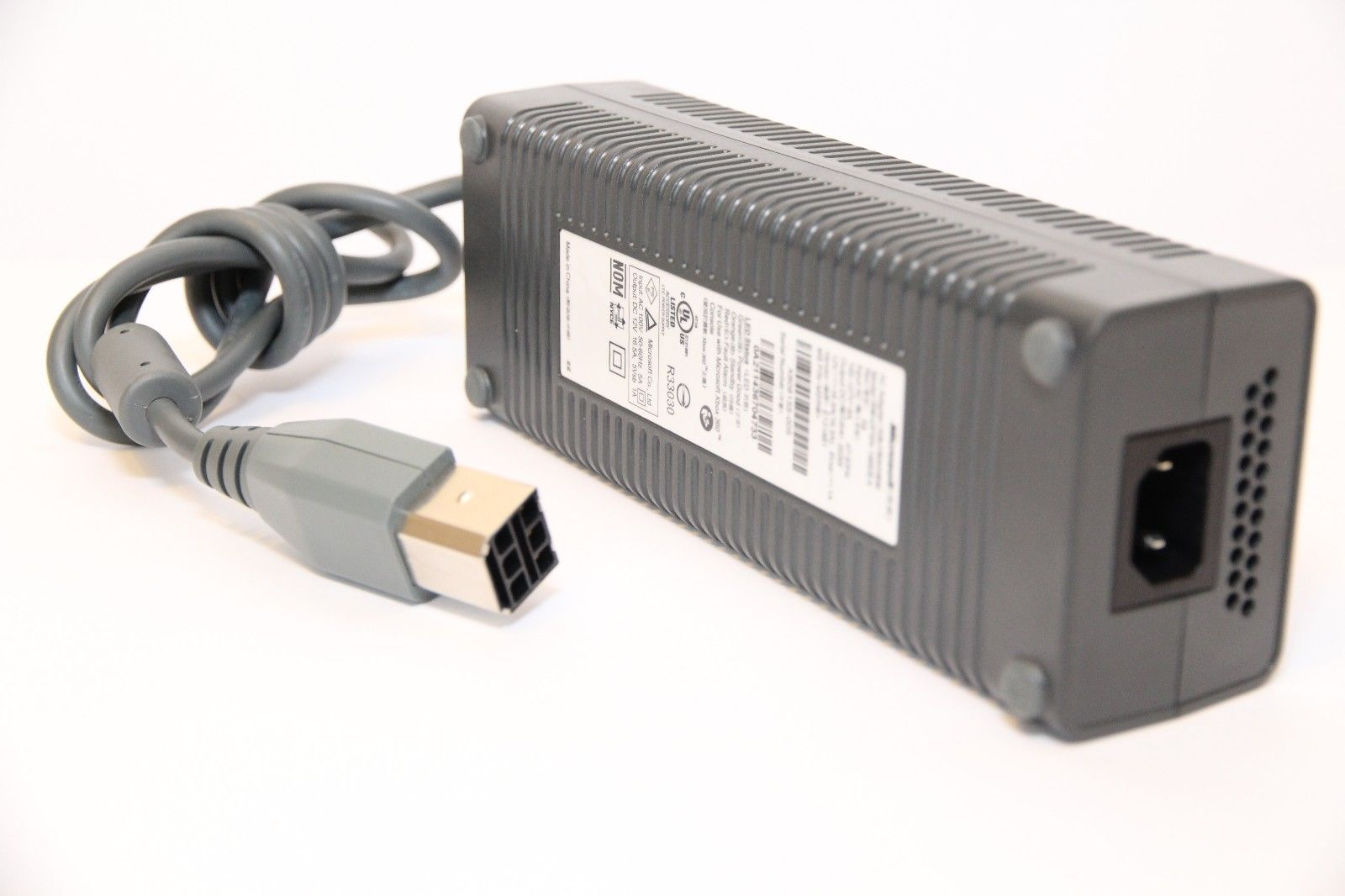 Microsoft DPSN-186EBA AC Adapter Power Cord Supply Charger Cable Wire Xbox 360 Genuine Original