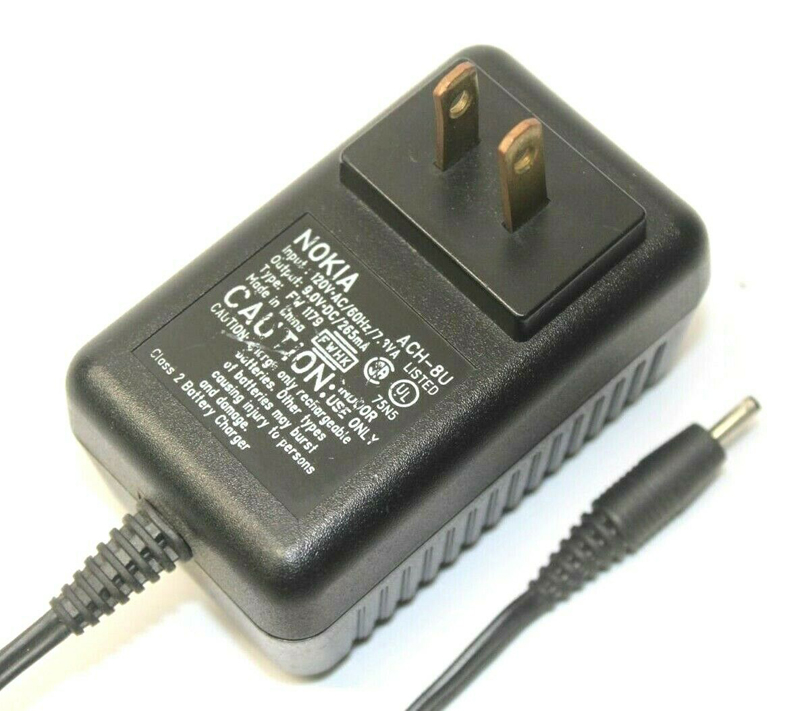 Nokia ACH-8U AC Adapter Power Cord Supply Charger Cable Wire Genuine Original